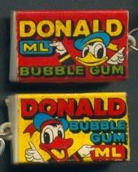 kauwgum Donald Duck
