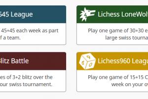 Langere partijen online spelen: Lichess4545