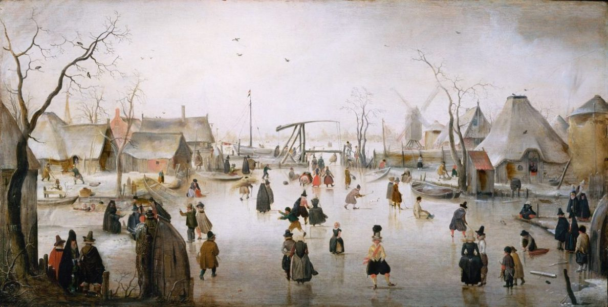 Sneeuw ijs winter schnee eis kunst art ice snow Hendrick_Avercamp