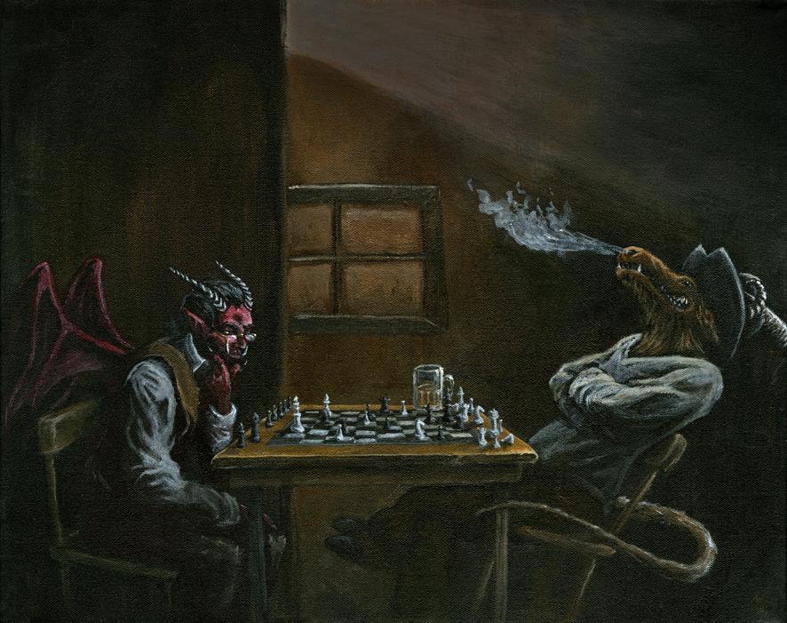 Gedemoniseerde schakers